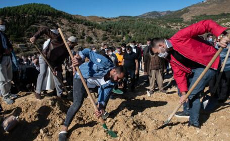 Căutări printre ruine, după cutremurul din Turcia