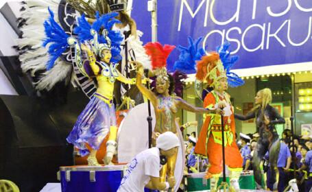 Sarbatoare importata cu succes: samba la Tokyo