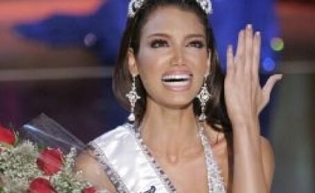 Miss Univers, Dayana Mendoza a ajuns acasa in Venezuela