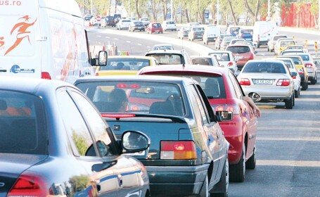 Trafic blocat in Capitala