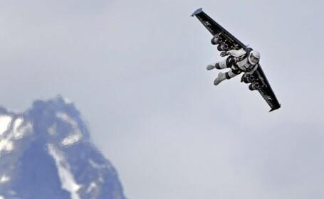 Omul poate zbura si fara aeroplan sau avion