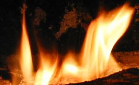 Incendiu violent la groapa de gunoi din Buzau