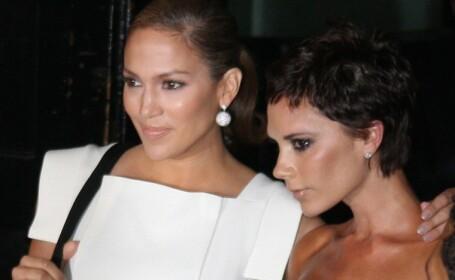 Jennifer Lopez si Victoria Beckham