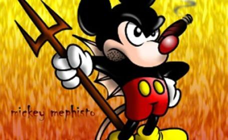 Capul lui Mickey Mouse vrem!