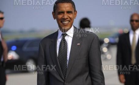 Sosiile lui Barack Obama si John McCain ies la rampa