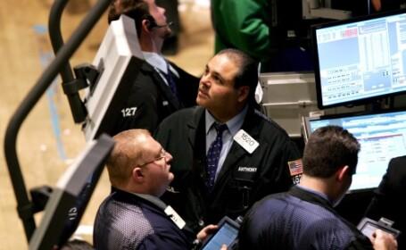 Bursele europene, in cadere