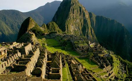 Templele de la Machu Picchu, afectate de un incendiu de padure