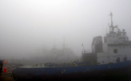 Porturile constantene au fost inchise din cauza vizibilitatii reduse