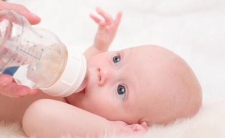 Europenii vor lapte natural pentru bebelusi