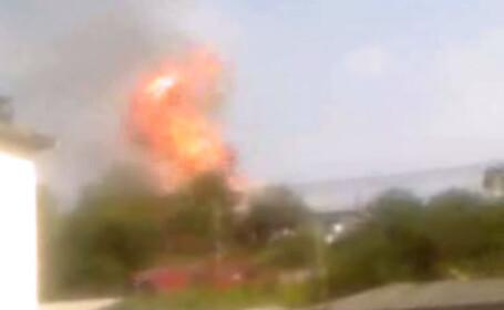Magistrala care alimenteaza Capitala cu gaze a explodat!