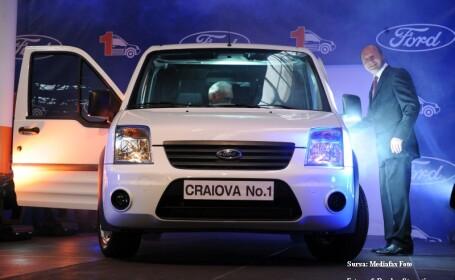 Ford incepu productia la Craiova si scoase de pe linie masina cu numarul 1!