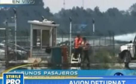 Avion cu 104 pasageri la bord, deturnat de teroristi in Mexic!