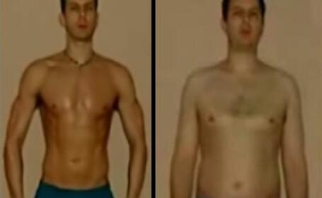 VIDEO UIMITOR! De la grasime in exces, la un corp de succes, in 365 de zile