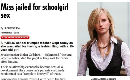 Profesoara condamnata la inchisoare, pentru o aventura lesbiana cu o eleva!