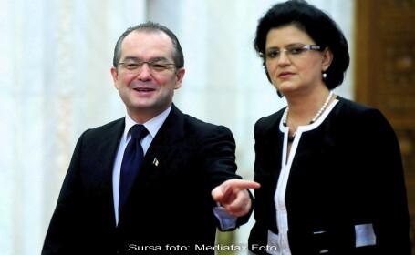 Emil Boc si Anca Boagiu