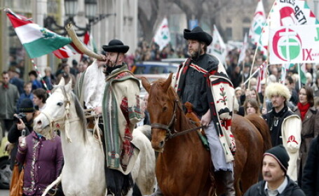 200 de maghiari aniverseaza intrarea trupelor hortyste in Miercurea Ciuc