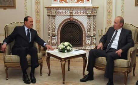 Silvio Berlusconi si Vladimir Putin