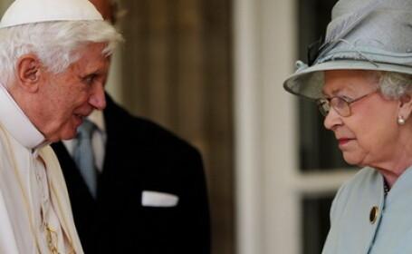 Papa Benedict al XVI-lea, Regina Elisabeta