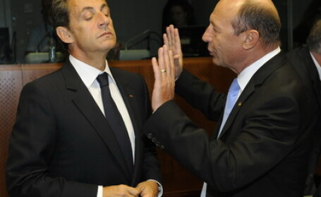 Basescu si Sarkozy