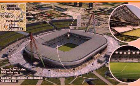 VIDEO! Cum va arata NOUL stadion al lui Juventus!