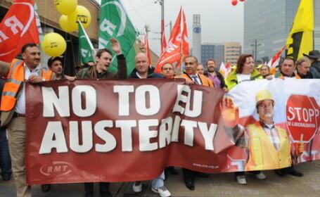 Proteste la Bruxelles