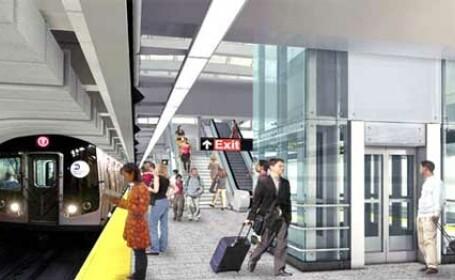Lift metrou