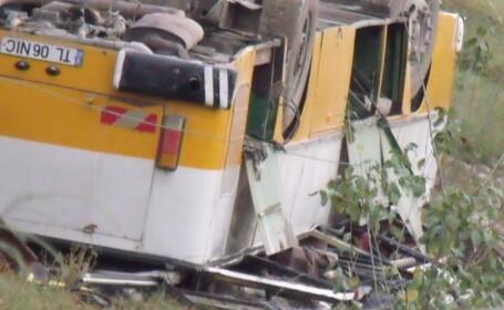 Sase persoane in continuare in stare grava dupa accidentul de la Tulcea