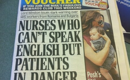 Asistentele medicale din Romania, acuzate ca pun in pericol viata pacientilor englezi