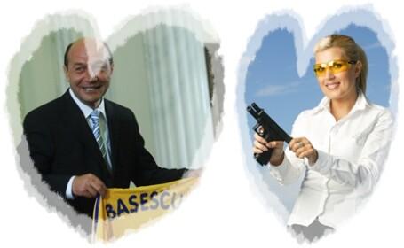 Traian Basescu si Elena Udrea