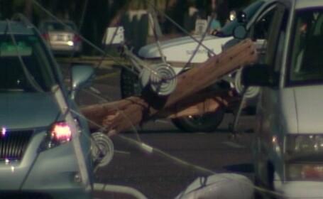 Cea mai buna descriere a unui accident de masina facuta vreodata de un martor. VIDEO