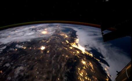 VIDEO spectaculos. Un minut in jurul Terrei de pe Statia Spatiala. Ce tari si orase vezi din spatiu