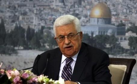 Presedintele Autoritatii Palestiniene, Mahmud Abbas