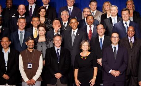 Gafa lui Barack Obama care a stricat cea mai tare fotografie din viata unui lider politic