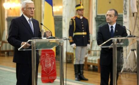 Emil Boc si Jerzy Buzek