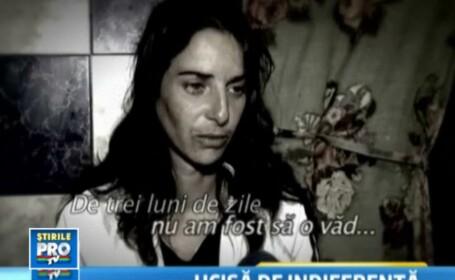 mama fetei care a murit de dor