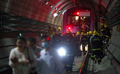 Grav accident la metroul din China. Afla cauza uluitoare a seriei negre de incidente feroviare