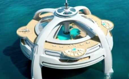 Utopia - iahtul pe care il poti confunda usor cu o insula plutitoare