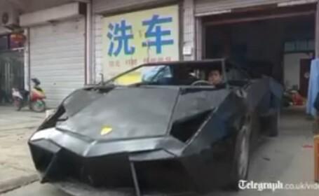 Lamborghini Aventador construit de un chinez