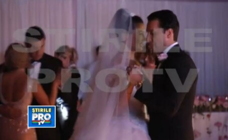 VIDEO. Nunta Elenei Basescu. Primele imagini cu VALSUL MIRESEI