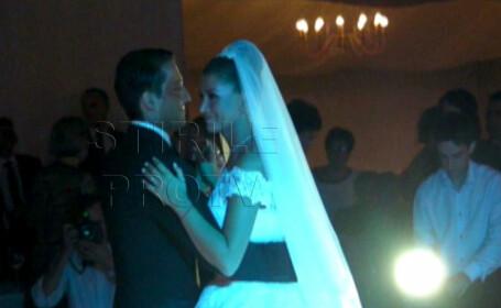 Ce cadouri a primit Elena Basescu la nunta si cum l-a impresionat cu rochia sa pe Catalin Botezatu