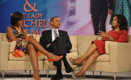 Michelle Obama, Barack Obama, Oprah Winfrey