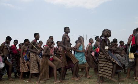 parada virginelor, Swaziland