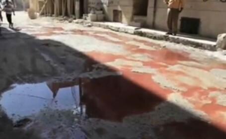 sange pe strada, Aleppo