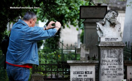 Seara muzicala, vineri, la Cimitirul Bellu din Capitala: \