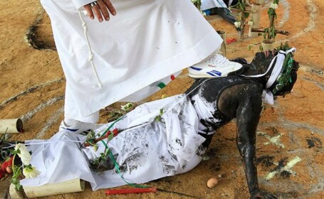 ritual exorcizare, Columbia
