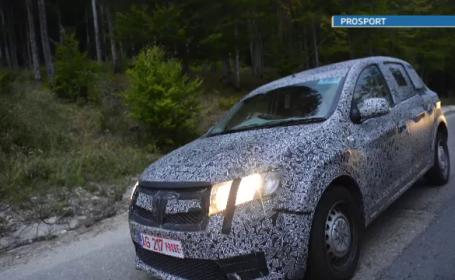 Primele imagini cu urmasul Loganului si noile Dacia Sandero si Sandero Stepway. VIDEO