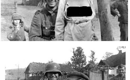 Manipularea de dinainte de Photoshop. Cum schimbau sovieticii fotografiile de razboi. GALERIE FOTO