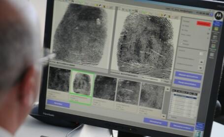 Politia a ramas fara baza de date, amprentele sunt verificate manual