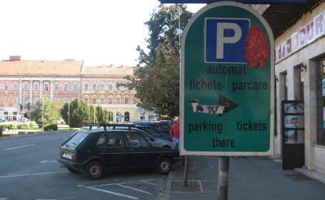 parcare SMS Arad