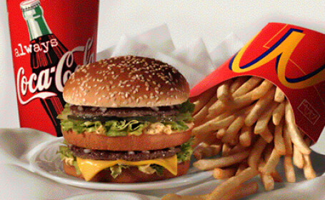 Site-ul McDonald\'s care ii sfatuia pe angajatii companiei sa nu manance fast food a fost inchis